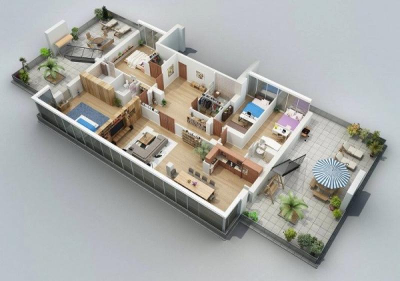3d моделирование квартиры программа