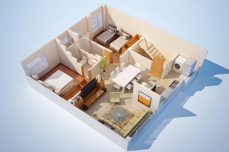 свободная планировка квартиры это фото